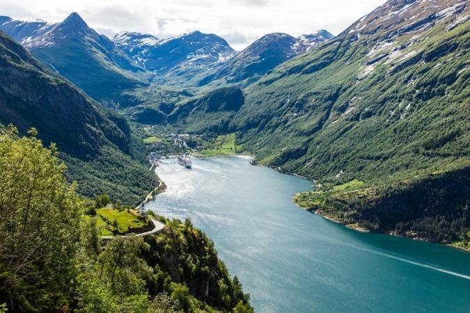 Fiordos noruegos.