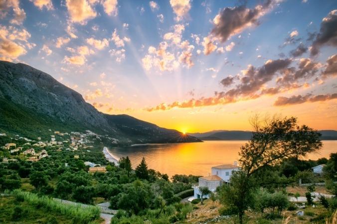 Corfu, Grecia.