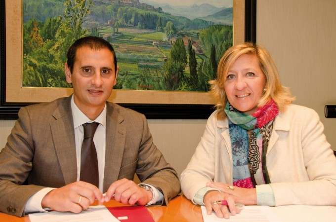 Amedna renueva su acuerdo de colaboración con Laboral Kutxa