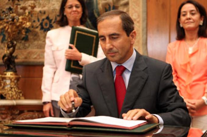 El rector de la Universidad de Navarra subraya el compromiso de Botín