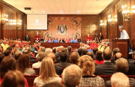 Apertura del curso 2014-15 en la Universidad de Navarra