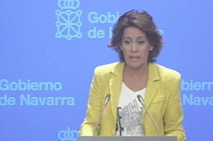 Barcina exige que se mantengan intactas las competencias de Navarra