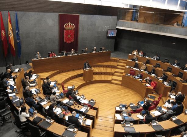 Imagen del Parlamento de Navarra