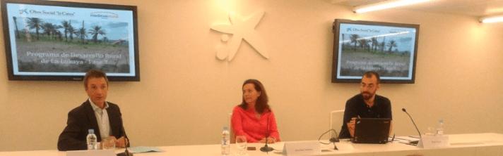 De izquierda a derecha, Ignacio Oficialdegui, Ana Díez Fontana y Diego Depaz.