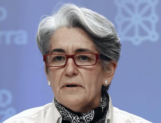 Lourdes Goicoechea, vicepresidenta y consejera de Economía