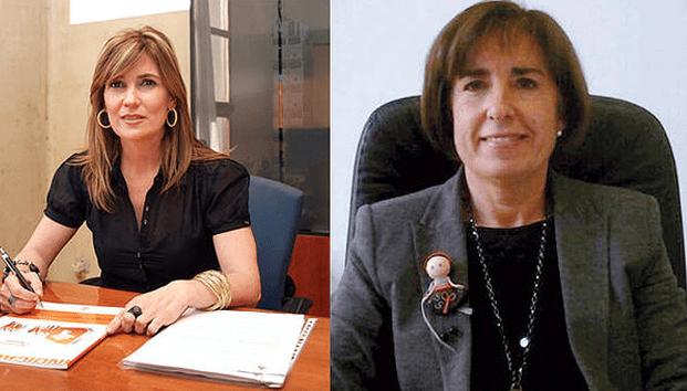 Laura Sandúa y Mª Puy Maestu, ganadoras de los XVI Premios Empresaria y Directiva Navarra 2013 convocados por Amedna.