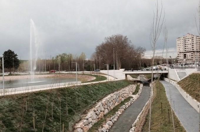 En octubre empezarán las obras del parque y paseo fluvial de Azpilagaña