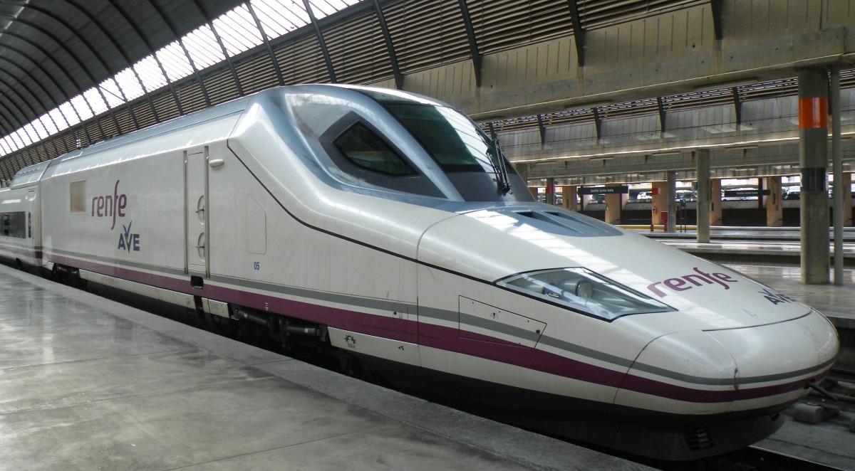 Imagen de un tren de Renfe