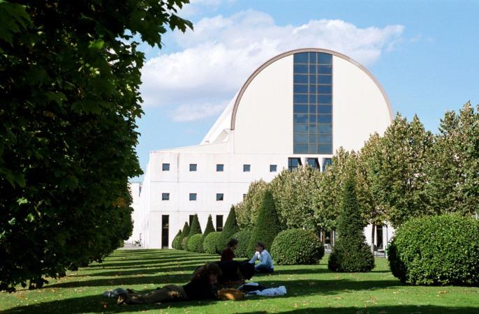 Vista del campus de Pamplona de la UPNA.