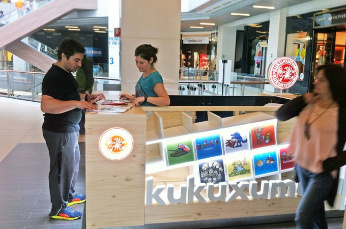 Kukuxumusu abre una tienda en Chile