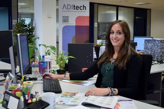 Andrea Urrecho de ADItech imparte una ponencia en el Congreso internacional VISIO 2014