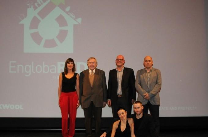 """ROCKWOOL presenta con arte Engloba-PLUS, la última fase de su programa de sostenibilidad """"Engloba"""""""