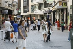 Calle Comercial. Archivo. Foto: Miguel Ciriza