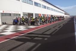 Momento de la NavaRider Day 2014, el pasado 19 de octubre, en el Circuito de Navarra.