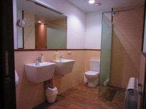 Baños adaptados en Matxitxulo