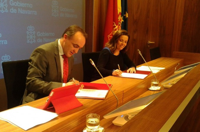 Gobierno de Navarra y la Caixa renuevan un acuerdo que dará empleo a 40 personas en riesgo de exclusión social