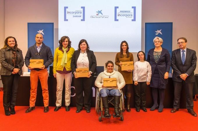 Distrivisual, Nicoplast, la Cooperativa de Hostelería de Navarra y Laseme, ganadores de los Premios Incorpora
