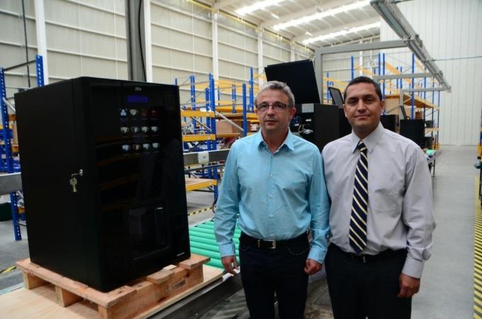 Azkoyen inaugura su nueva planta en Colombia