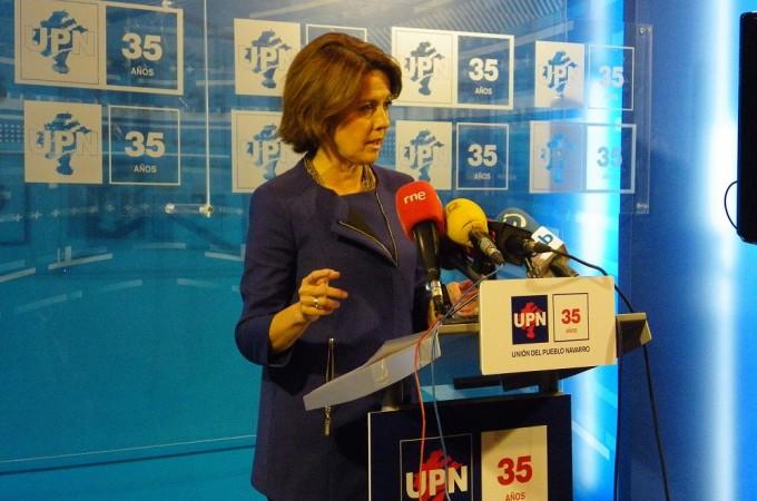 Barcina da un paso atras y no será la candidata de UPN en las elecciones de mayo