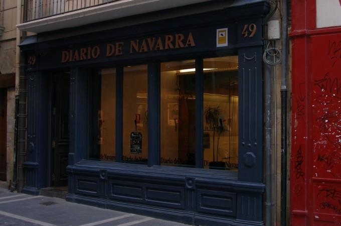 El Parlamento foral se solidariza con los trabajadores de Diario de Navarra
