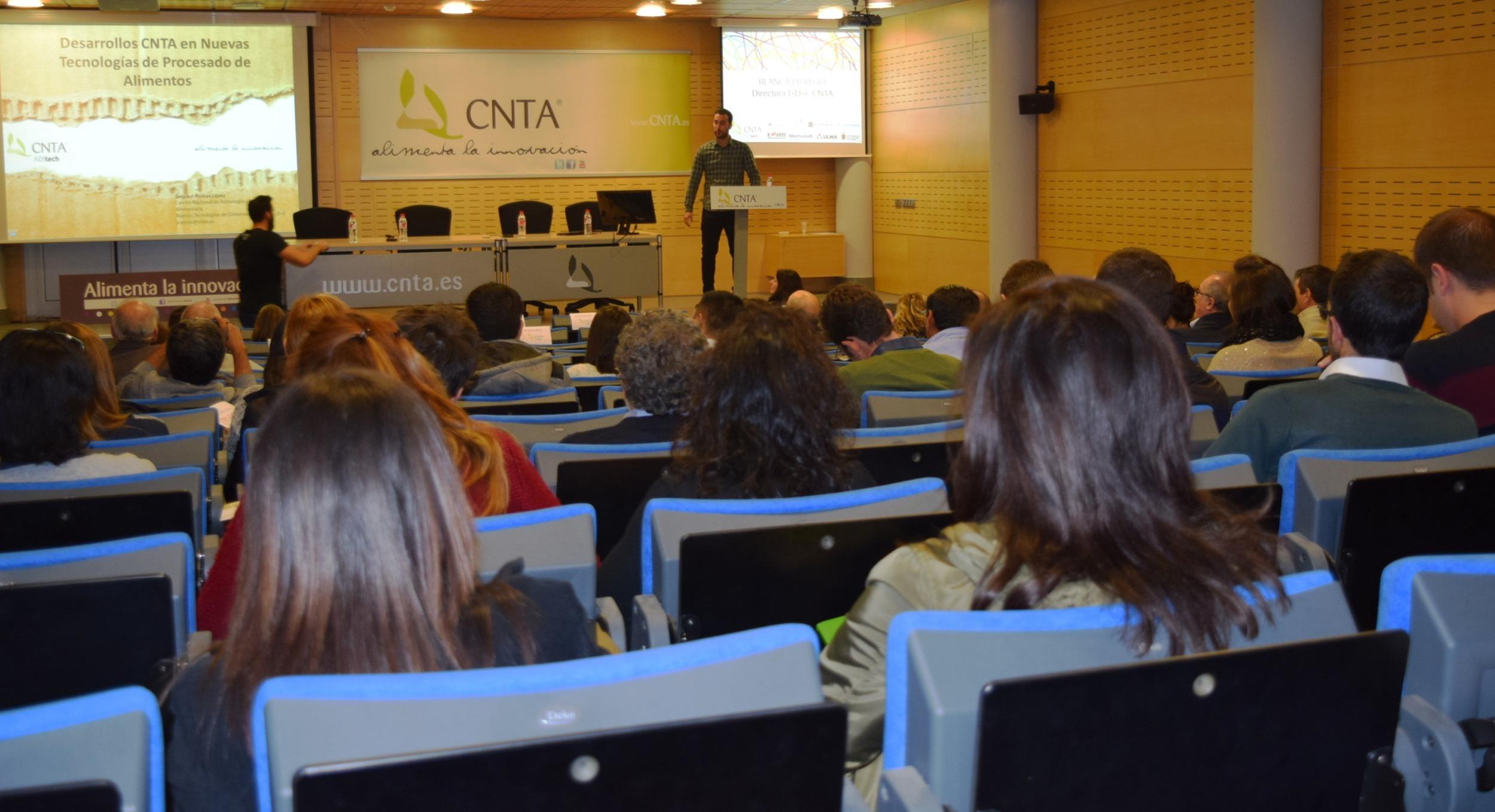 Imagen de la jornada de transferencia de la CNTA.