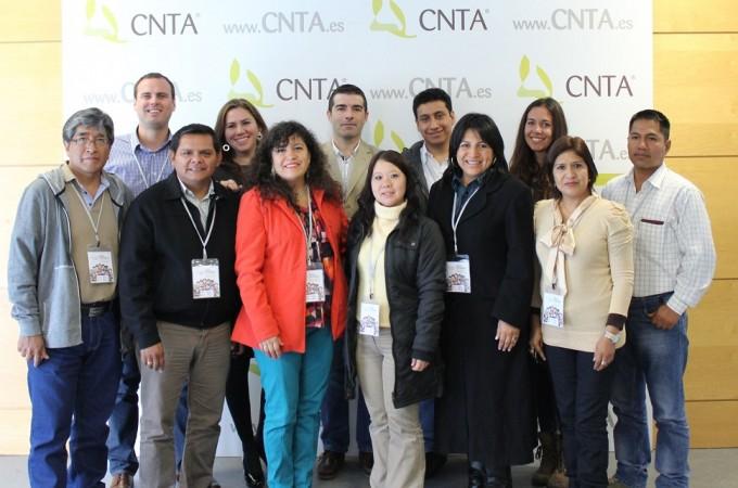 Una delegación peruana de empresas agroalimentarias visita Navarra