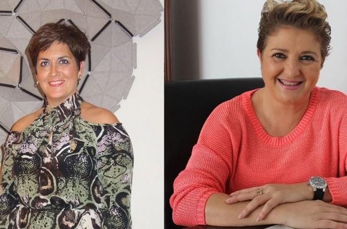Esther Sanz e Isabel Jiménez, ganadoras de los XVII Premios Empresaria y Directiva Navarra 2014 de Amedna