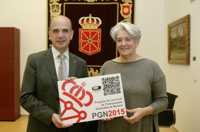 El Presupuesto General de Navarra 2015 llega al Parlamento foral