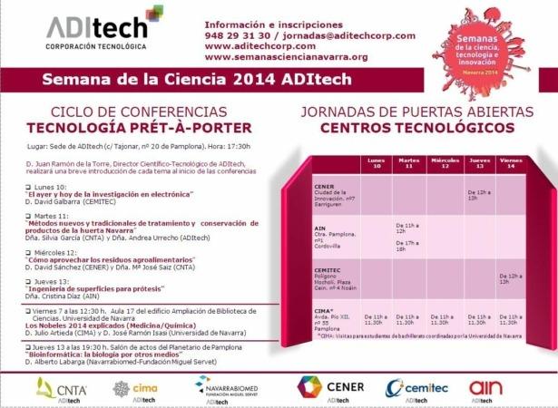 Semana de la Ciencia 2014 ADItech