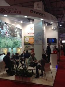 Stand de Navarra en la Feria Internacional de EIBTM