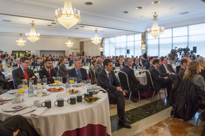 Sensación positiva entre los empresarios por las palabras de Barcina