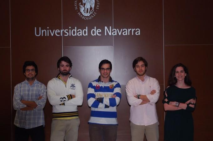 Un grupo de estudiantes universitarios asesora gratuitamente a pymes navarras