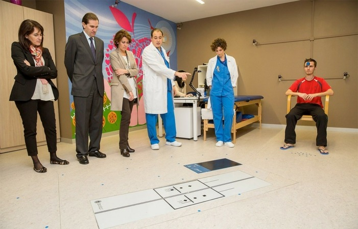 Inauguración del nuevo laboratorio de Biomecánica de Mutua Navarra.