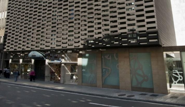 Imagen del edificio de Hacienda Foral en Pamplona (archivo)