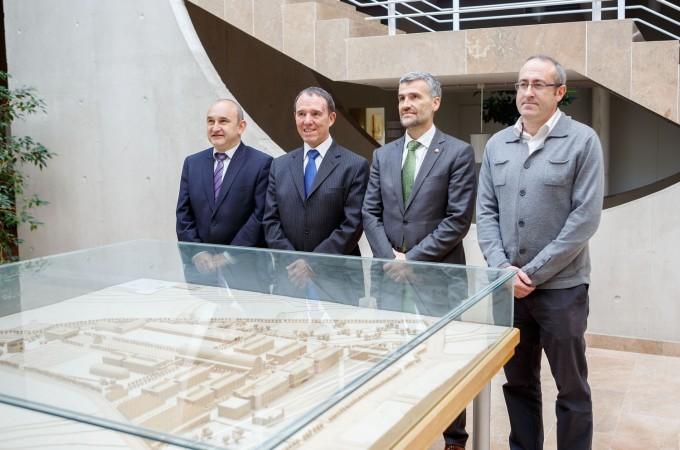 La UPNA crea dos institutos de investigación sobre ciudades inteligentes y materiales avanzados