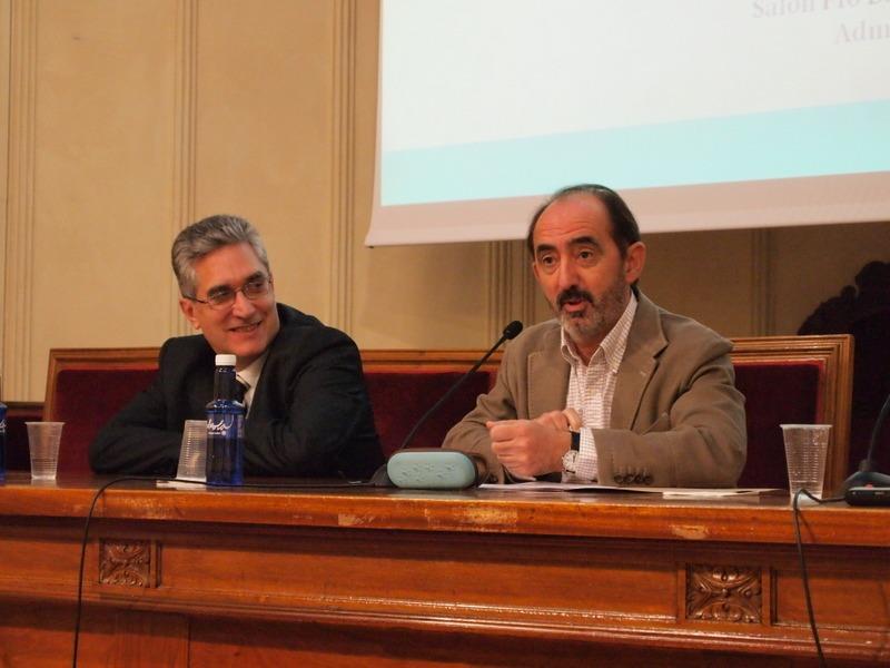 Nicolas Lopez (izquierda) y Daniel Innerárity (derecha)