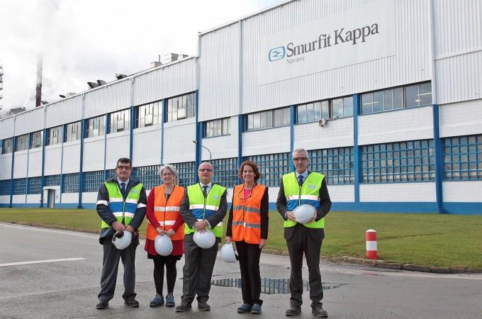 Smurfit Kappa invertirá 27 millones de euros en su planta de Sangüesa
