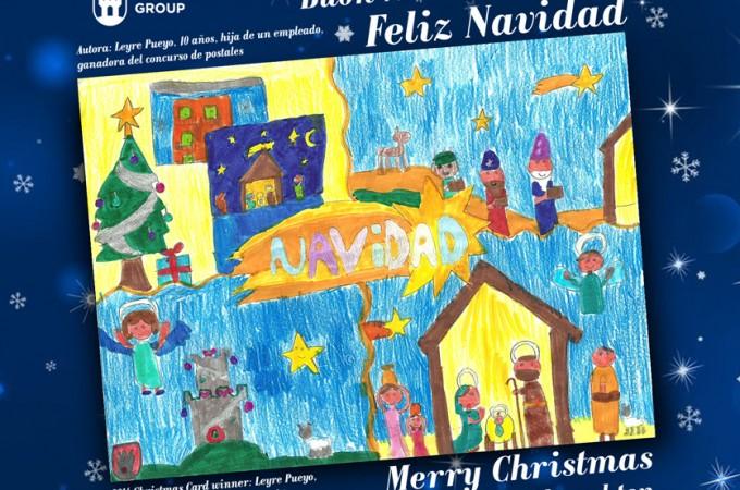 Azkoyen entrega el premio a la mejor postal navideña