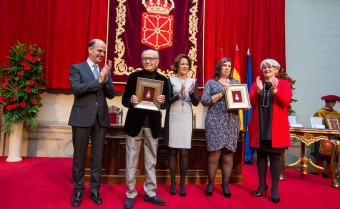 Entrega de la Medalla de Oro de Navarra