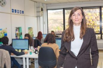 Ascen Cruchaga, en la sede de Orbital Critical Systems.