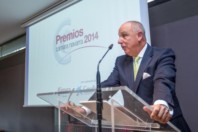 El actual presidente de la Cámara de Comercio, Javier Taberna, en una imagen de archivo. (FOTO: Víctor Rodrígo).