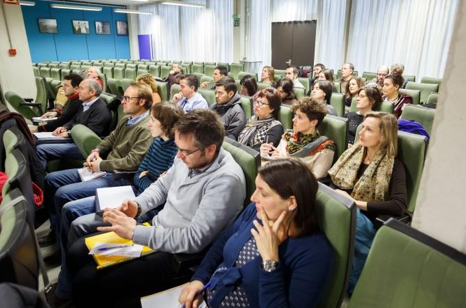 Medio centenar de personas asiste a la apertura de las I Jornadas Vitivinícolas D.O. Navarra en la UPNA