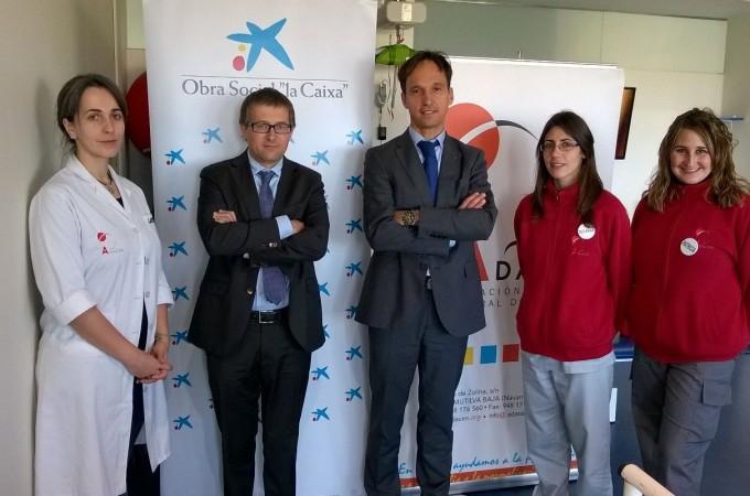 """La Obra Social """"la Caixa"""" apoya a la Asociación de Daño Cerebral de Navarra con 6.000 euros para el programa de rehabilitación logopédica"""