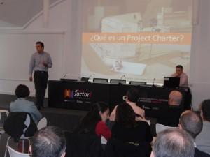 Joseba Carricas durante su intervención