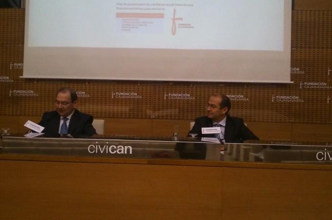 Fundación Caja Navarra destinará este año 3,4 millones de euros en ayudas a proyectos para entidades navarras