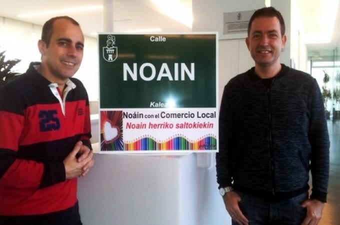 """El Ayuntamiento de Noáin se suma a la iniciativa """"Publicalle"""" para apoyar al comercio local"""