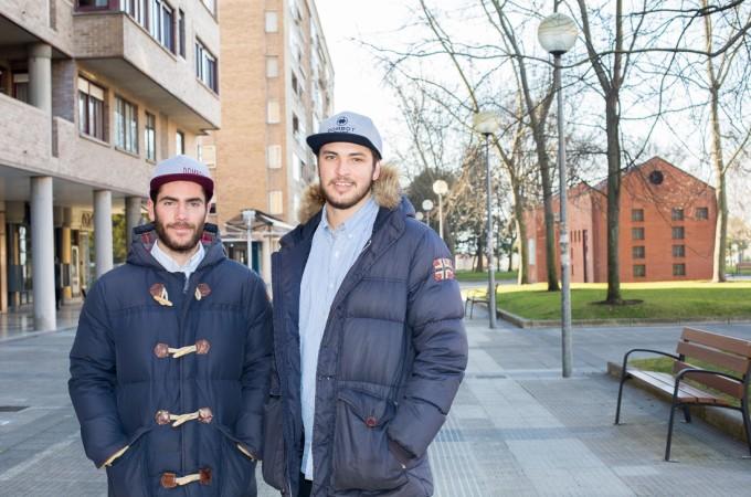 Dos jóvenes navarros marcan tendencia y crean su propia firma de ropa