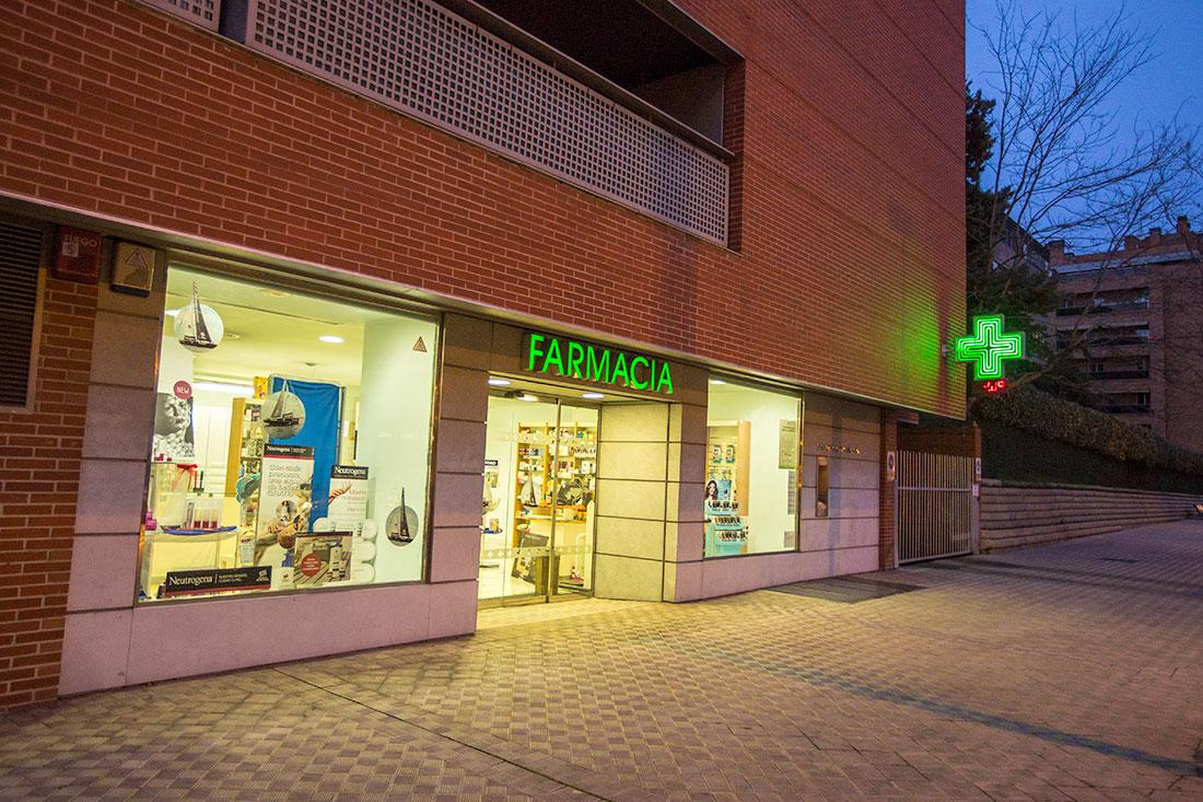 El número de farmacias de Navarra parece desproporcionado con arreglo a su población.