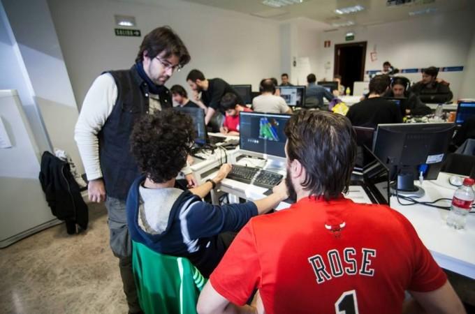 La Global Game Jam concluye con seis videojuegos desarrollados en la sede de Pamplona