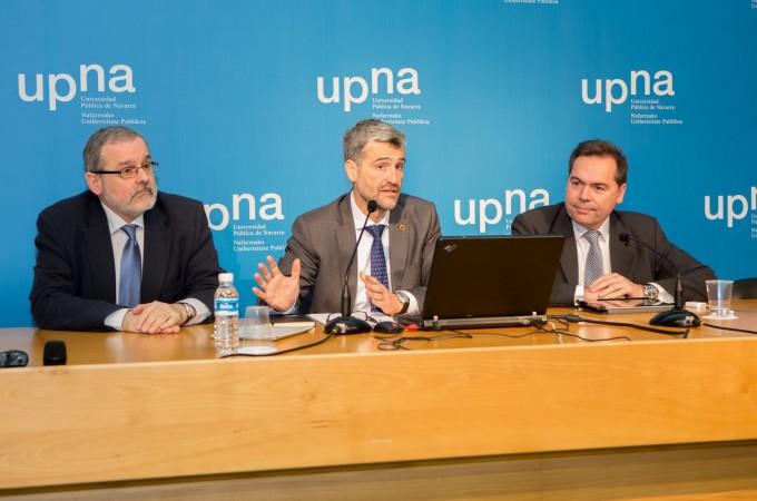 La UPNA presenta sus institutos de investigación a la comunidad universitaria